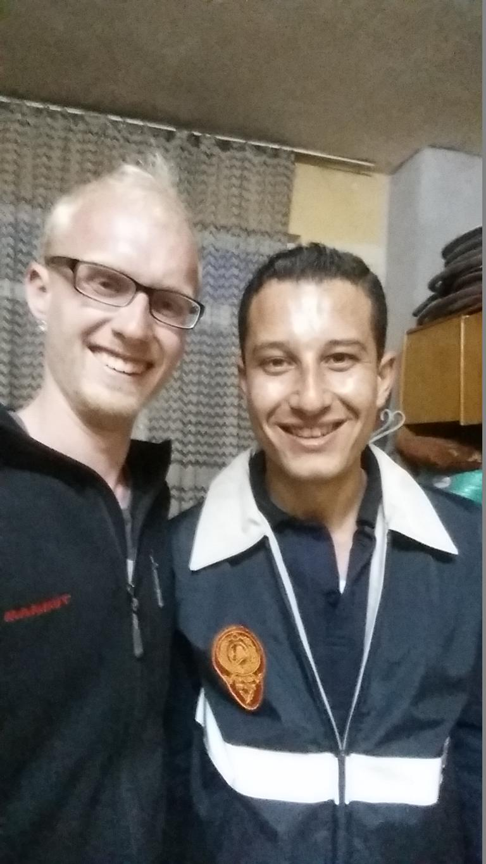 Hasan von der Feuerwehr Ürgüp und Felix